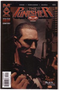 Punisher   vol. 7   #21 VG/FN (Up is Down and Black is White 3)
