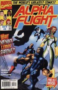 Alpha Flight (1997 series) #3, NM- (Stock photo)