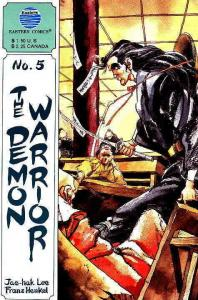 Demon Warrior, The #5 VF/NM; Eastern | save on shipping - details inside