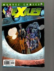 12 Marvel Comics Exiles #14 30 31 32 33 43 44 50 51 52 53 54 EK22