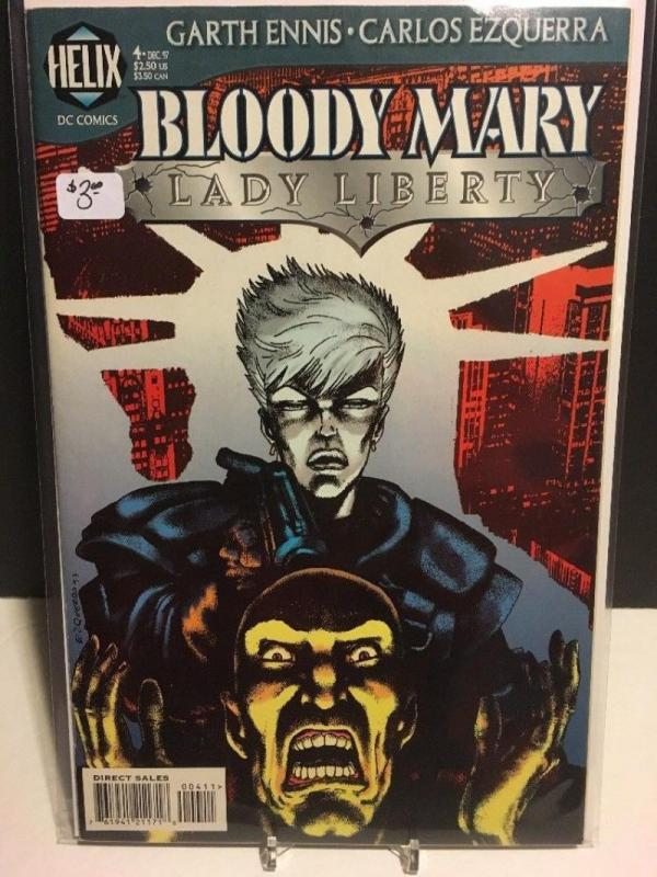BLOODY MARY #4, NM, Lady Liberty,  Garth Ennis,  Helix, 1997, more  in store