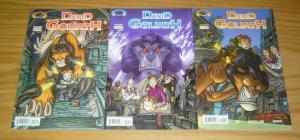 David And Goliath #1-3 VF/NM complete series - all ages fun - image comics set 2