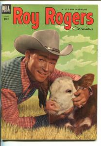 ROY ROGERS #68-1953- PHOTO COVER-KING OF THE COWBOYS-vg