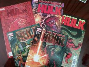 Hulk #53-57 (2012) Mayan Rule 5 issue Story Arc Red Hulk She-Hulk