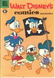 WALT DISNEYS COMICS & STORIES 245 (BRITISH) F-VF COMICS BOOK