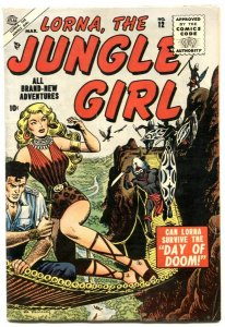 Lorna, The Jungle Girl  #12 1955- Maneely cover- FN