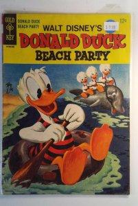 Donald Duck Beach Party #1 (1965) Gold Key Comics 6.5 FN+ Comic Book