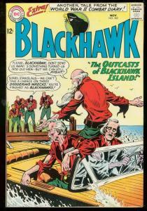 BLACKHAWK #202 1964-DC COMICS-WWII COMBAT DIARY VG/FN