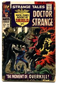 Strange Tales #151 comic book 1966- 1st Steranko Marvel work- Dr Strange