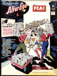 Alter Ego #12 2002- Gil Fox- Quality comics- Ron Foss VF