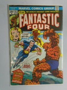 Fantastic Four #147 featuring Sub-Mariner 4.0 VG (1974 1st Series)
