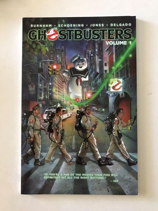 Ghostbusters - Volume 1 The Man From the Mirror (IDW; April, 2015) - new tpb