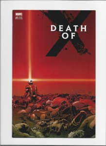 Death of X #1 NM- 2nd Print Variant!!