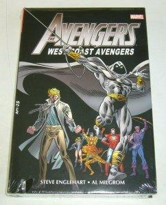 Avengers: West Coast Avengers Omnibus HC #2 moon knight - hawkeye - marvel