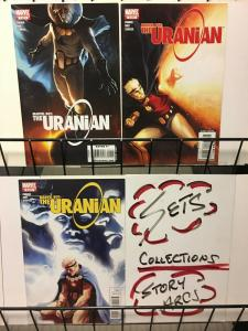 MARVEL BOY URANIAN (2010) 1-3  complete series