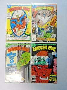 Ambush Bug set #1 to #4 8.0 VF 4 different books (1985)