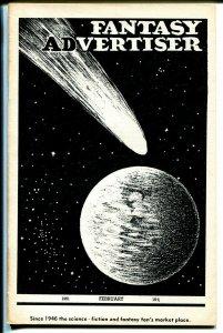 Fantasy Advertiser 2/1951-pulps for sale fanzine-1920 pulps-Ray Bradbury-VG/FN