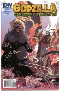 GODZILLA Gangsters and Goliaths #2 A, NM,James Stokoe, 2011,more Horror in store