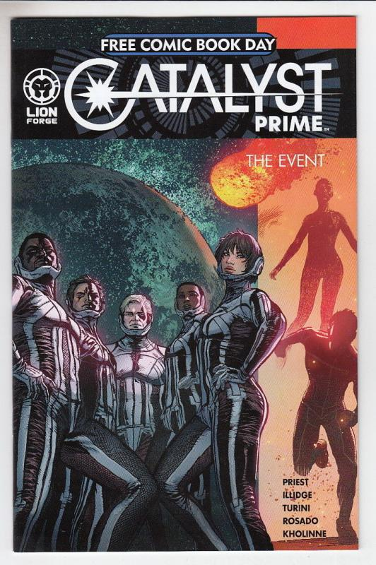 CATALYST PRIME THE EVENT (2017 LION FORGE) #1 Unstamped NM-  FCBD 2017