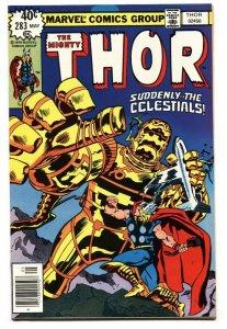 Thor #283 Celestials appear comic book 1979 Marvel NM-