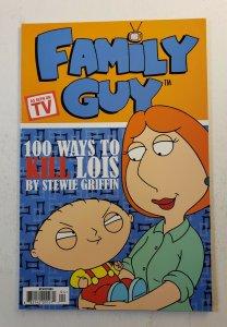 Family Guy 100 Ways to Kill Lois by Stewie Griffin Prestige Format Comic - NM