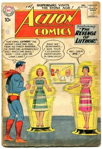 Action Comics #259 1959- Superman- Supergirl-Luthor reading copy