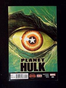 Planet Hulk #5 (2015)