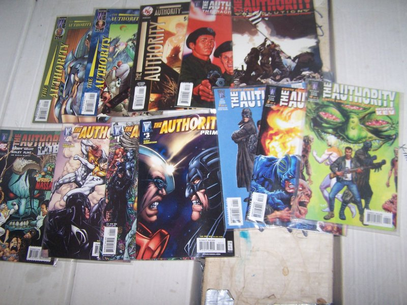 The Authority # 0 1 2 5 6 7 8 10 12  vol 2 DC/ wildstorm + vol 5 2 3 4 5 12+more