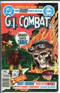 G.I. COMBAT #255 1983-DC-HAUNTED TANK-GLANZMAN-GIANT EDITION-KUBERT-nm