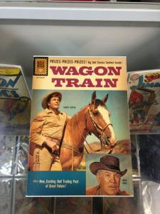 Wagon Train 10 VG/VG+  Photo Cover  (July/Sept. 1961) Dell Comics