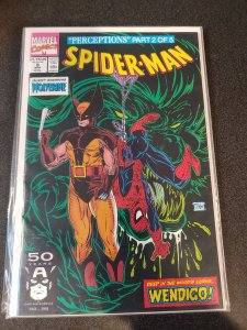 Spider-Man #9 (1990) Marvel Comics Todd McFarlane NM
