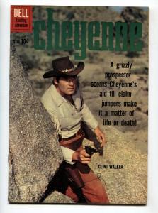 Cheyenne #19 1961- Dell Western- Clint Walker VF/NM