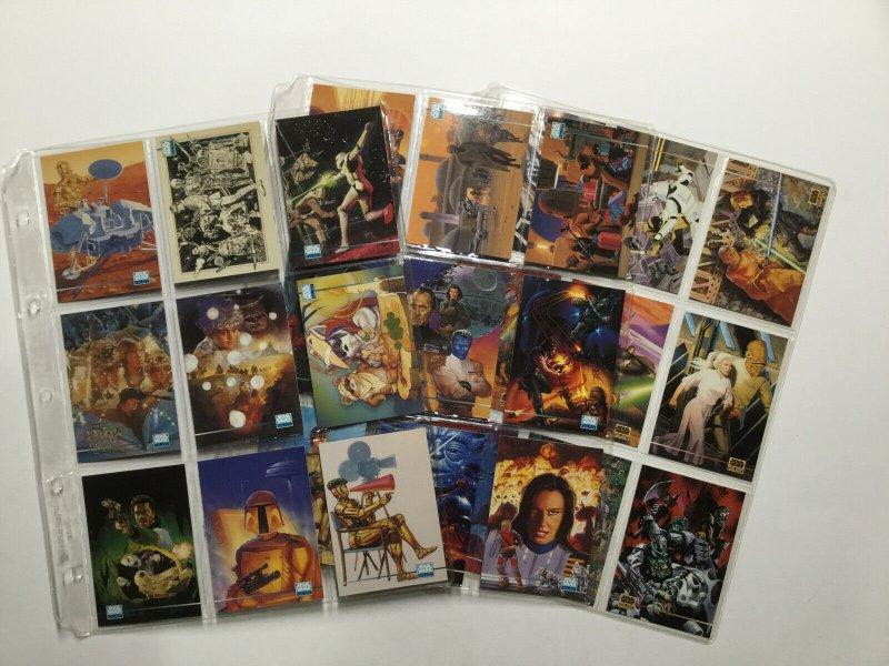 Topps 1993 Star Wars Galaxy 1-365 Complete Card Set Series 1 2 3 Lucasfilm Ltd