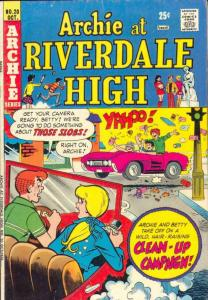 Archie At Riverdale High #20 (Oct-74) VG/FN+ Mid-Grade Archie