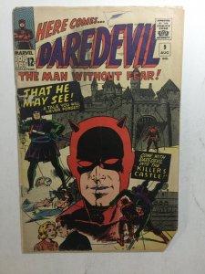 Daredevil 9 Fr/Gd Fair/Good 1.5 Marvel Comics