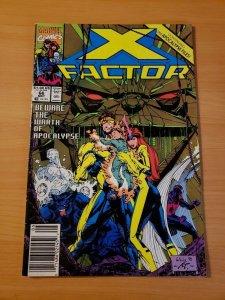 X-Factor #66 Newsstand Edition ~ VERY FINE NEAR MINT NM ~ (1991, Marvel Comics)