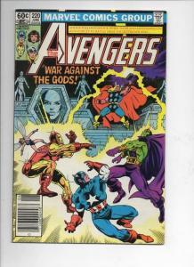 AVENGERS #220, VF, Captain America, Thor, Iron Man, 1963 1982, more Marvel in st
