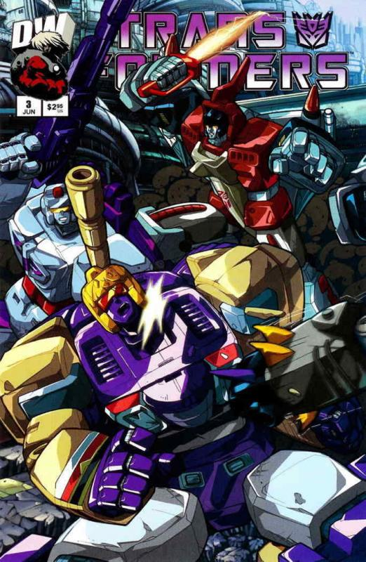 Transformers: Generation 1 (Vol. 2) #3A VF/NM; Dreamwave | save on shipping - de