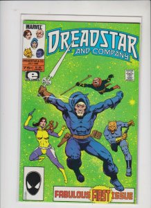 DREADSTAR AND COMPANY #1 1985 MARVEL / VF/+ CONDITION