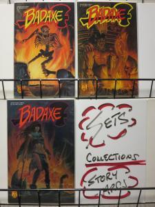 BADAXE (1989 AD) 1-3 O'CONNOR/BURLES/BALDWIN; SWORD & S