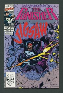Punisher #36 / 9.4 NM - 9.6 NM+  Jigsaw  Part One August 1990