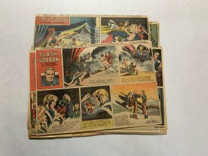 Flash Gordon Complete Year 1950 Tabloid Size Color Newspaper Sundays