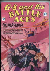 G-8 AND HIS BATTLE ACES 2004-POPULAR-REPRINT OF 9/1934 ISSUE-CAVE-PANTHER-nm
