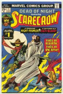 Dead Of Night #11 1975- 1st SCARECROW- Wrightson VG/F