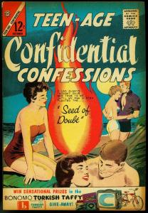 TEEN-AGE CONFIDENTIAL CONFESSIONS #20 1963-CHARLTON VG