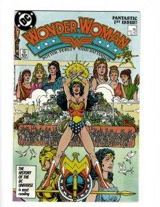 Wonder Woman # 1 NM 1st Print DC Comic Book Superman Perez Batman Flash SR1