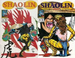 SHAOLIN (1994 BLACK TIGER) 1-2  Tiger & Crane