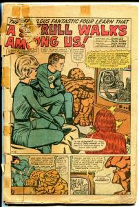 Fantastic Four #18-Super Skull origin-Jack Kirby art-P