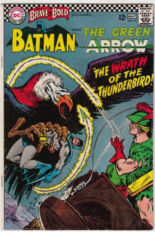 Brave and the Bold, The #71 (May-67) VF High-Grade Batman