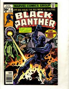 Black Panther # 2 VF/NM Marvel Comic Book Jack Kirby Wakanda Avengers Hulk GK1